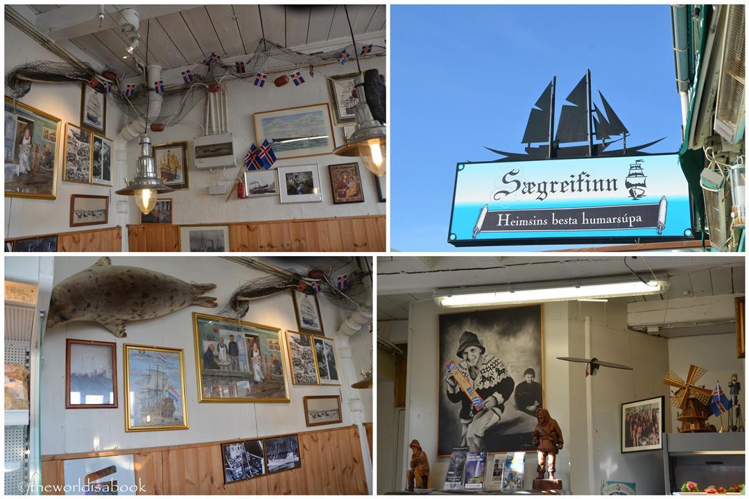 Iceland Sea Baron restaurant