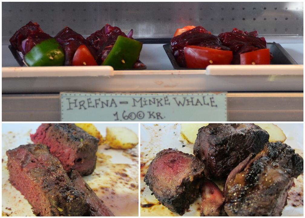 Iceland Minke Whale dish