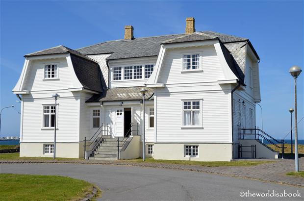Reykjavik Hofdi house