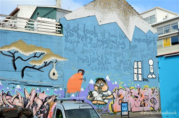 Reykjavik graffiti art