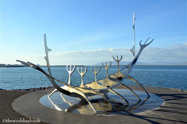 Reykjavik sun voyage sculpture solfar