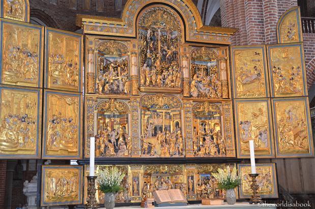 Roskilde cathedral altar