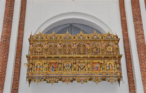 Roskilde cathedral king box