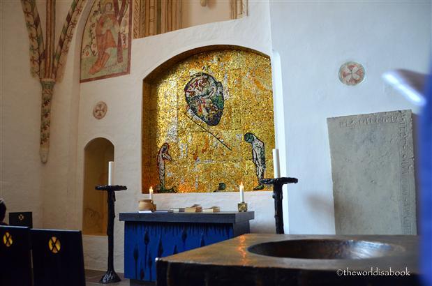 Roskilde st andrew chapel