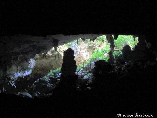 Inside Belize cave tubing