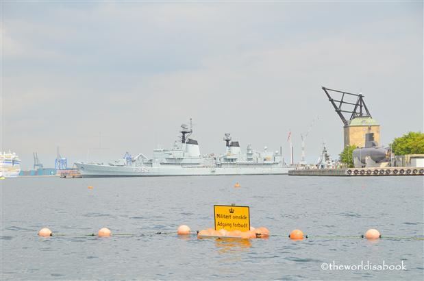 Copenhagen naval base
