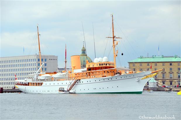 Denmark queen yacht