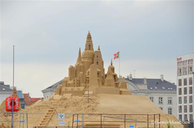 Copenhagen sand castle