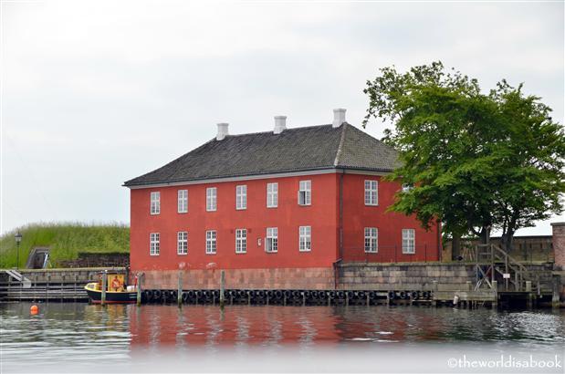 Copenhagen Trekoner building