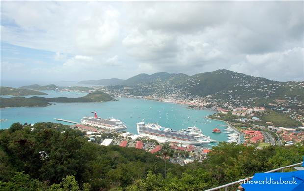St Thomas Virgin Islands port