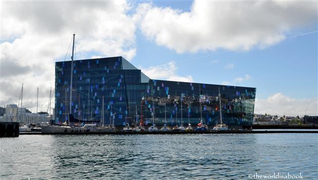 Reykjavik iceland Harpa