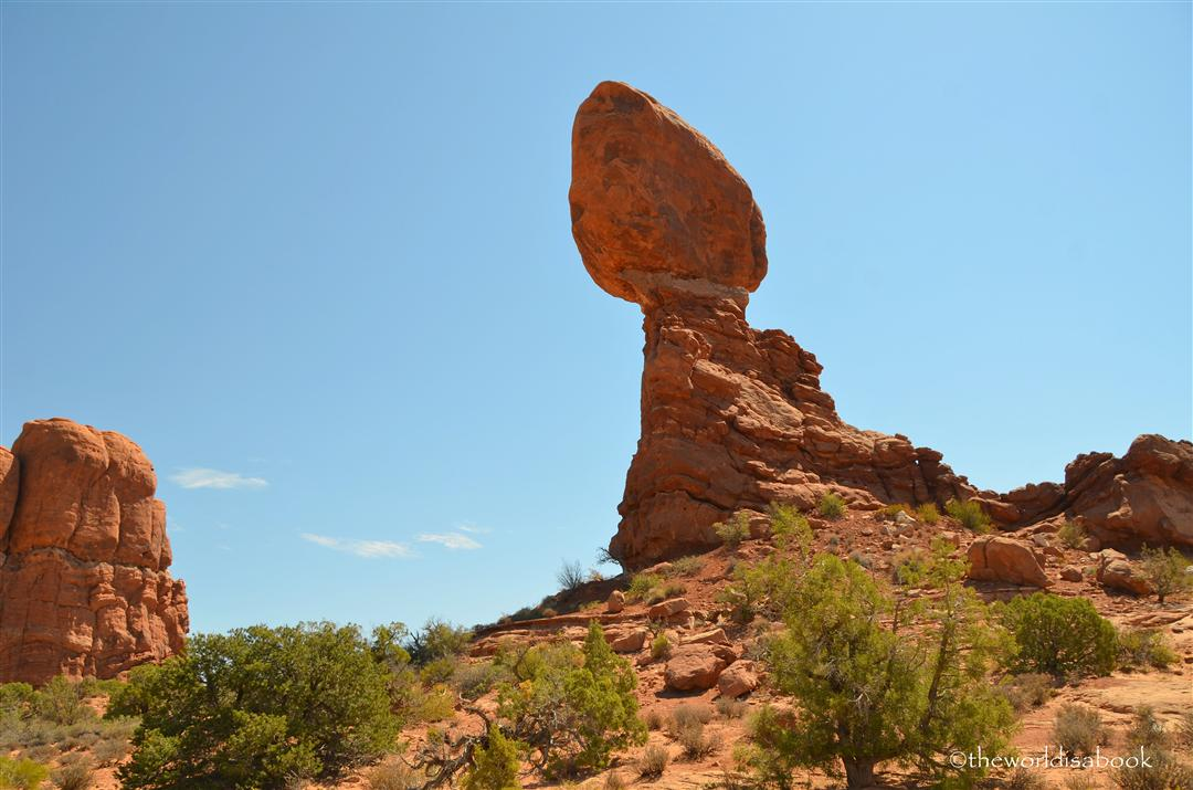 Arches national Park balanced rock