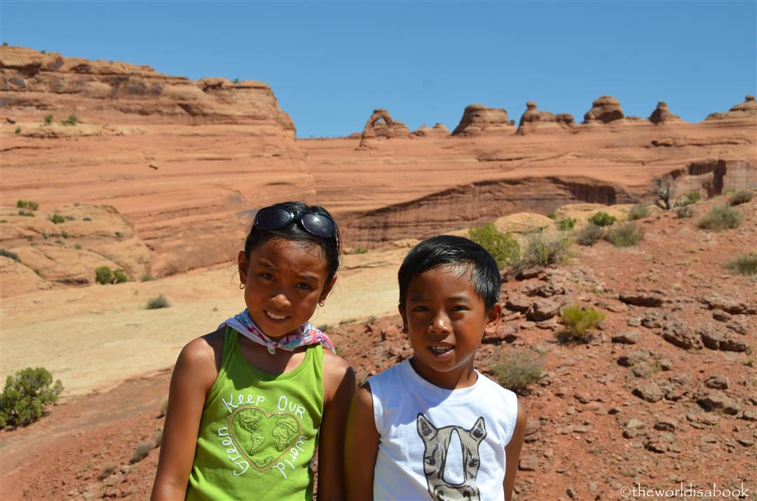 Delicate Arch viewpoint
