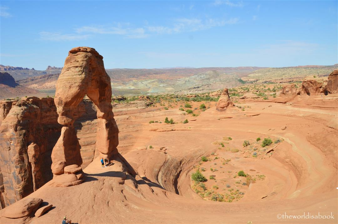 Delicate arch ampitheater