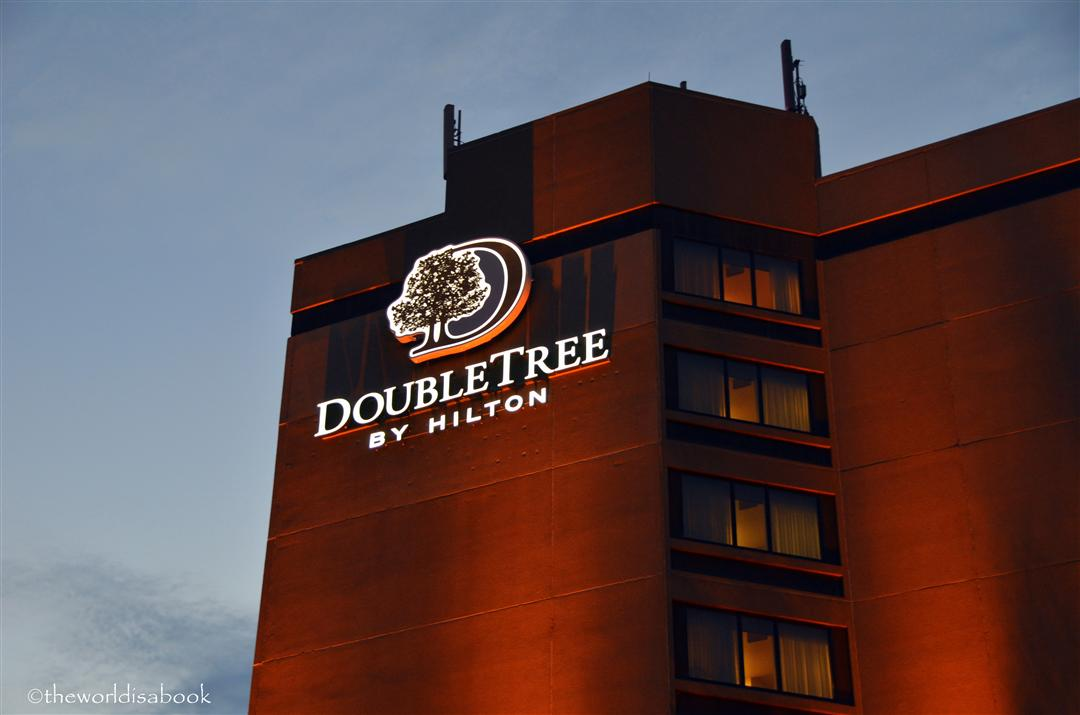Doubletree Grand Junction Sign