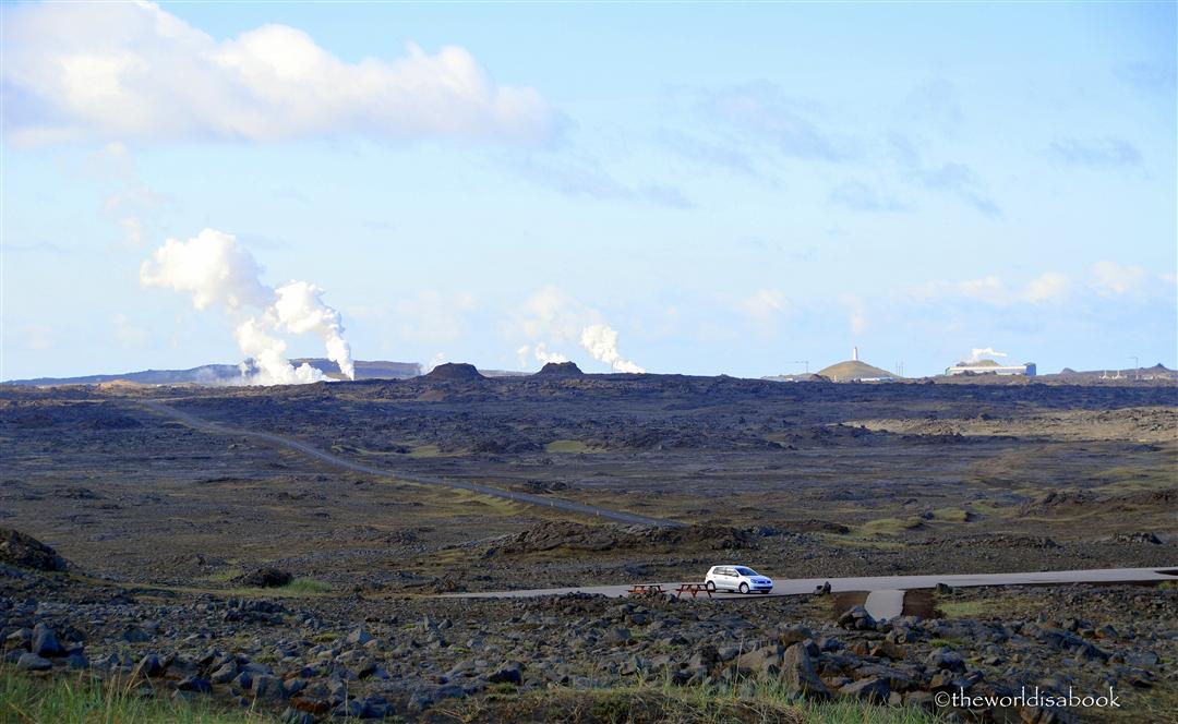 Iceland reykjanes landscape
