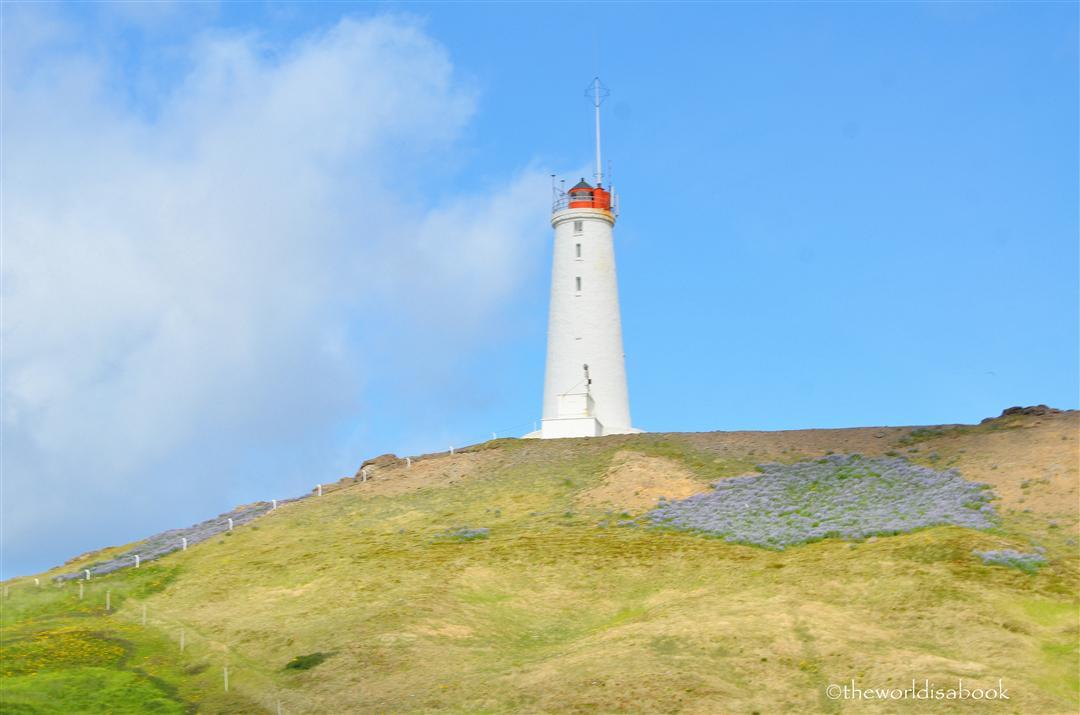 Iceland Reykjanesviti lighthouse