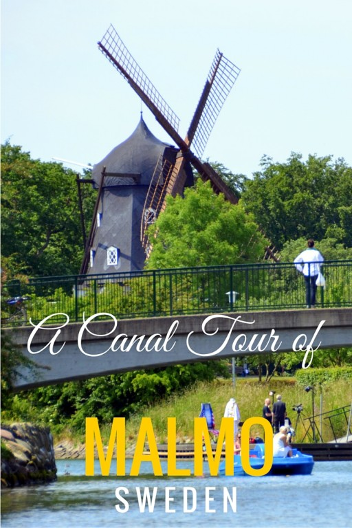 Malmo Canal tour with kids