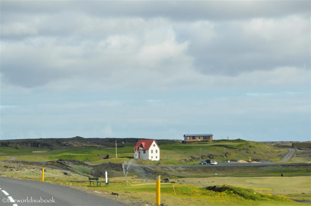 Iceland Reykjanes house