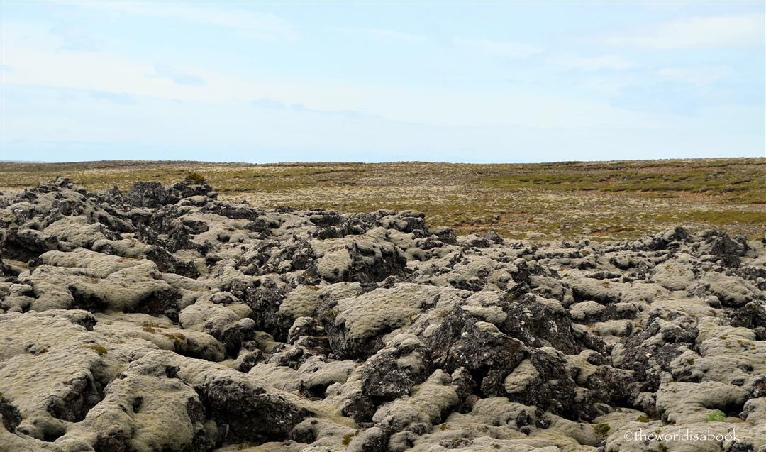 Reykjanes lava landscape