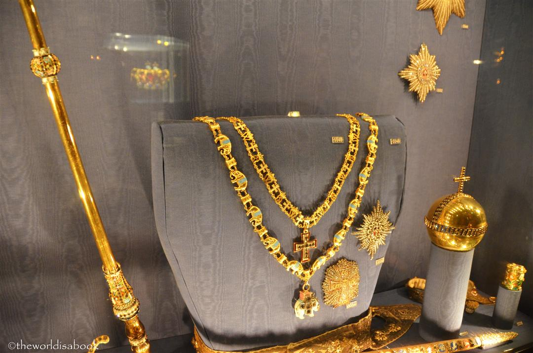 Rosenborg castle Jewels