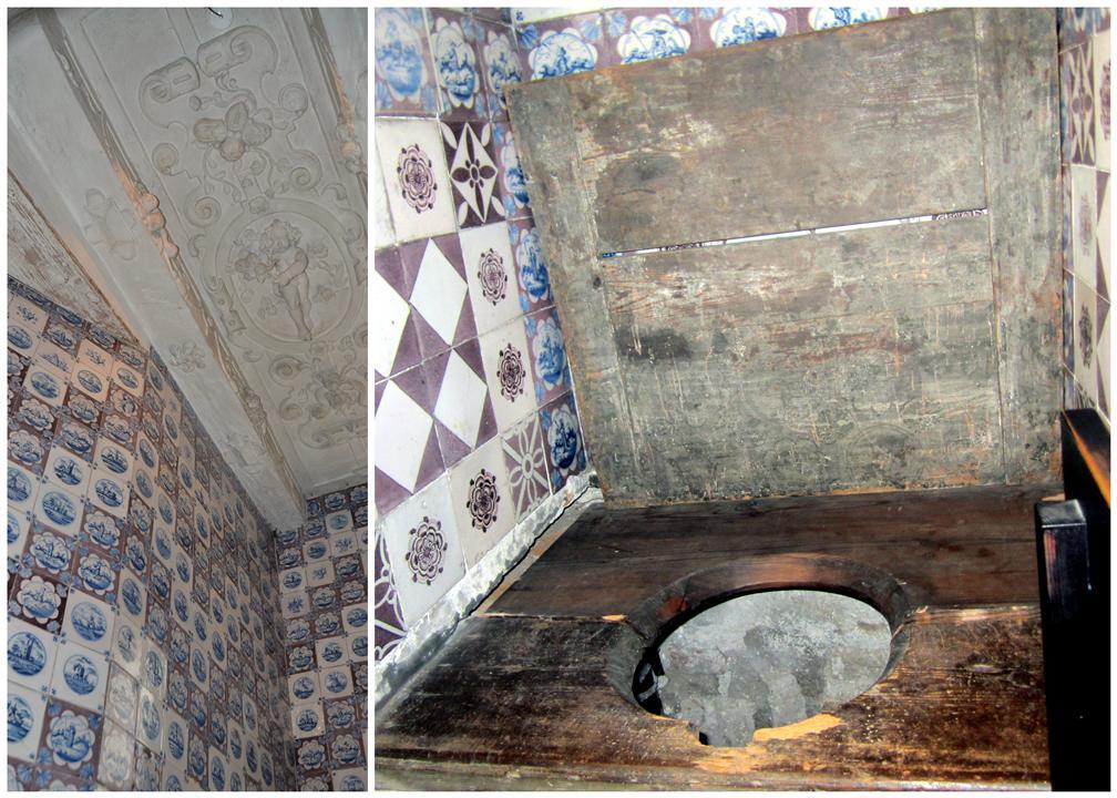 Rosenborg castle Toilet