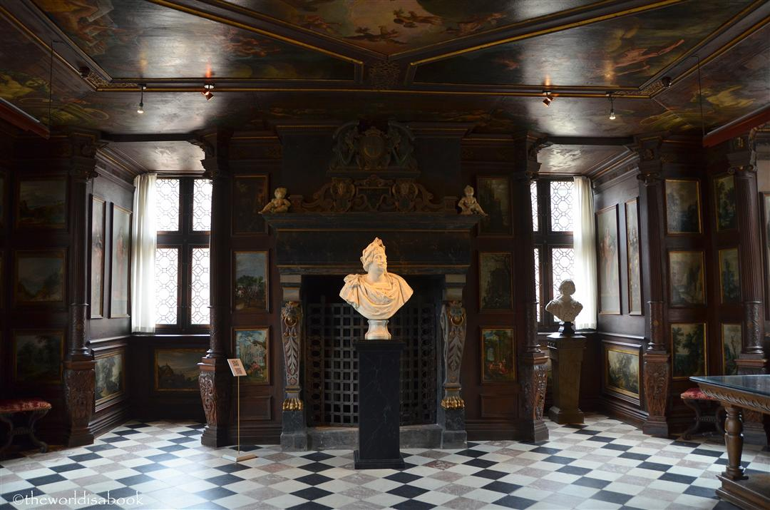 Rosenborg Castle Winter Room
