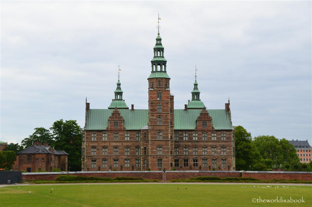 Rosenborg castle or slot