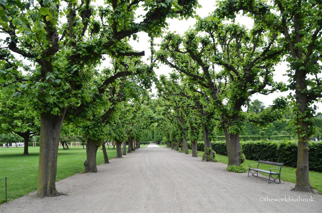 Rosenborg Kongens have kings garden park