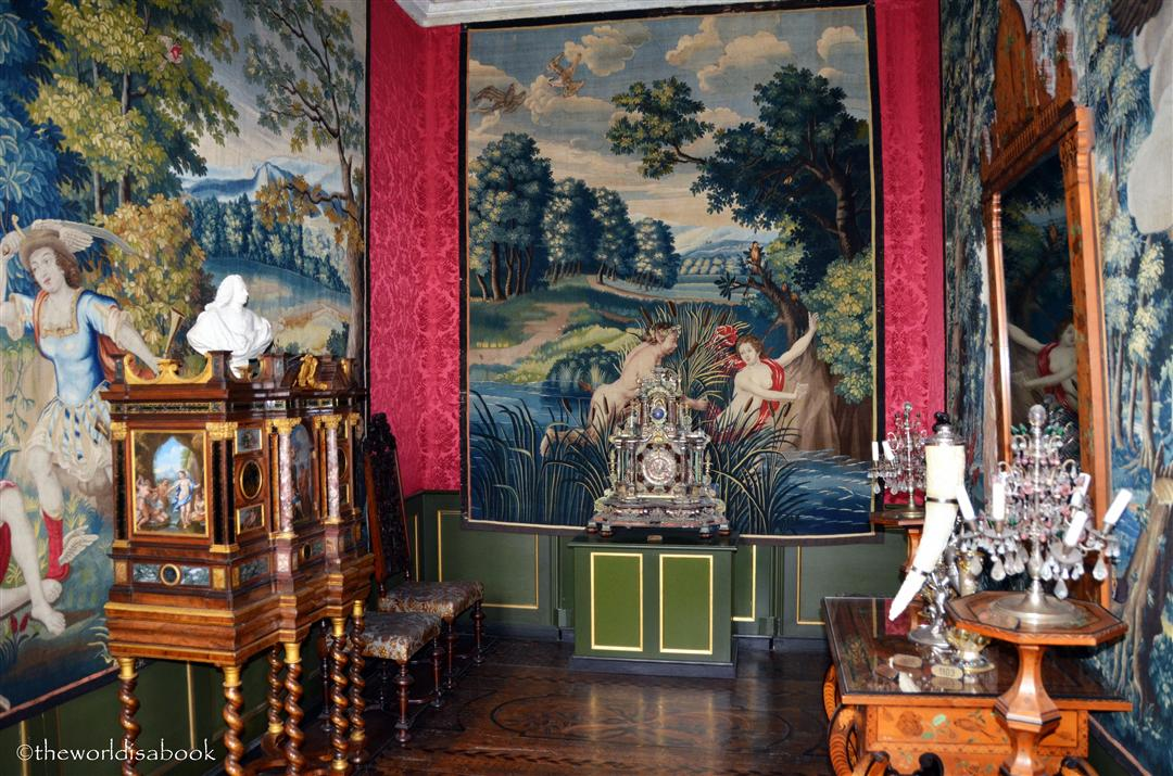 Rosenborg castle room