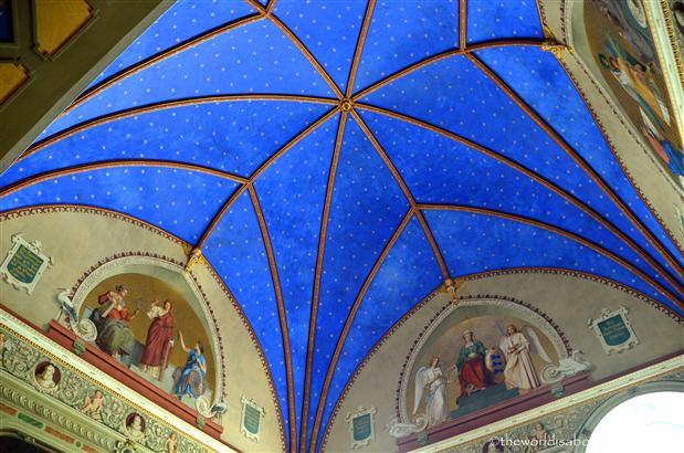 Roskilde Christian IV chapel ceiling