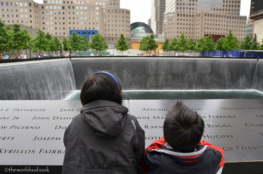9/11 Memorial with kids