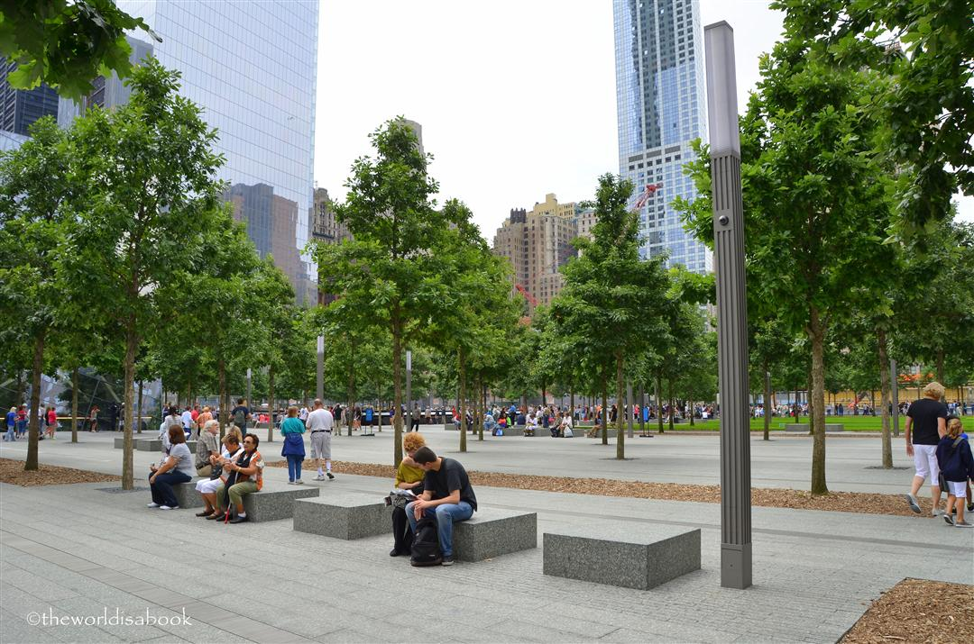 9/11 Memorial Park area