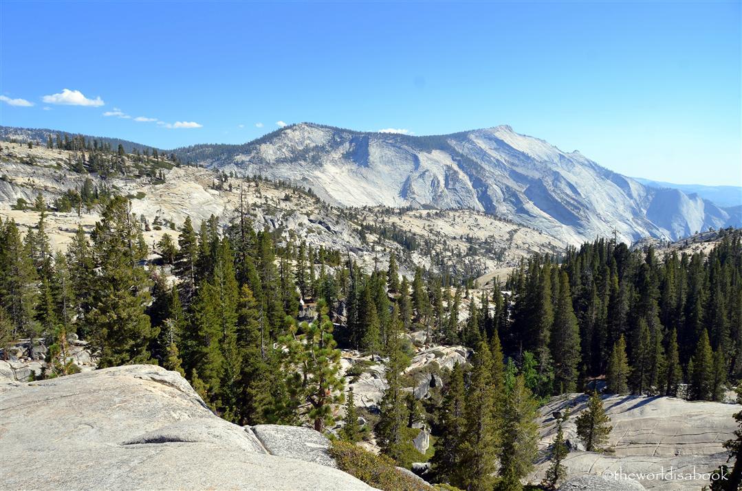 Cloud's rest Yosemite