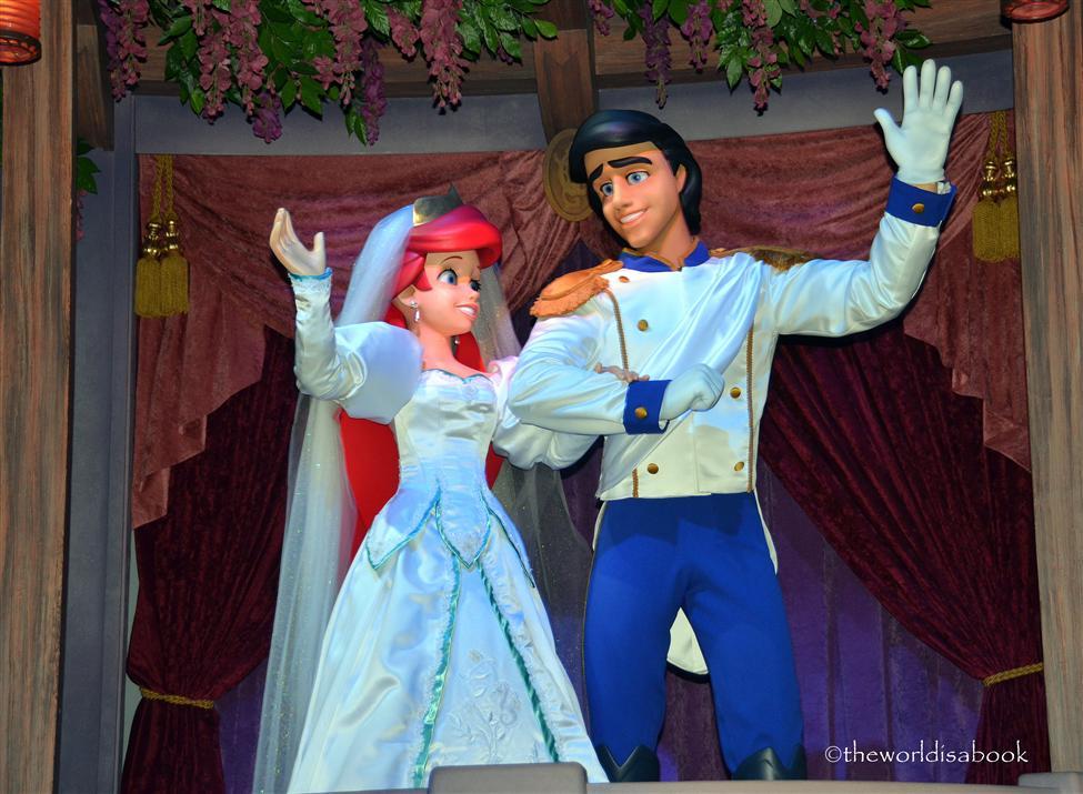 Disney Eric and Ariel