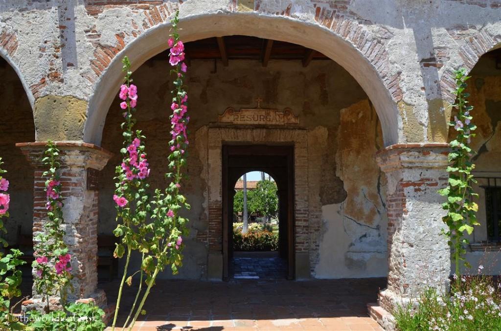 Mission San Juan Capistrano door