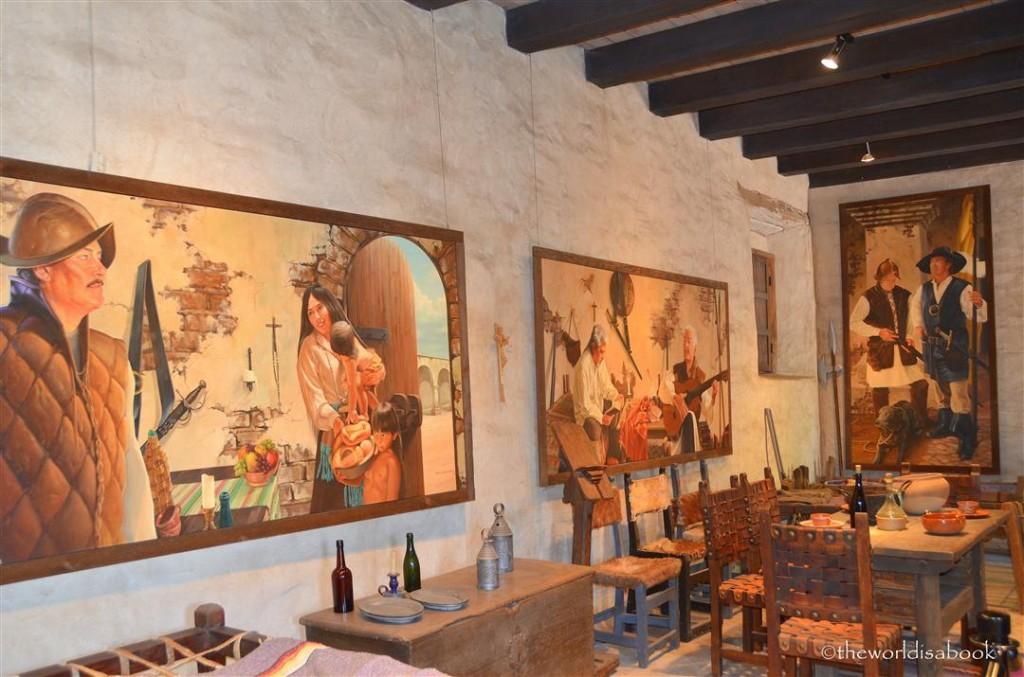 mission San Juan Capistrano museum kitchen