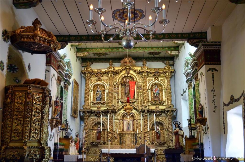 Mission San Juan Mission serra chapel altar