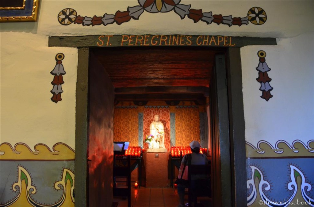Mission San Juan capistrano St Peregrine Chapel