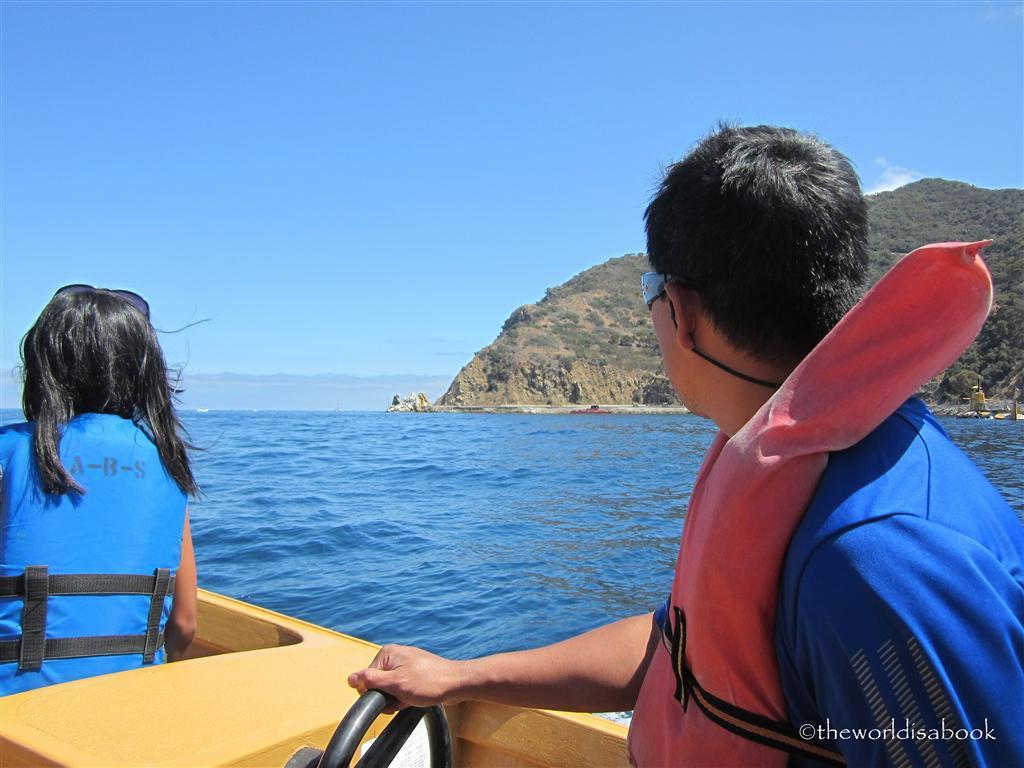 Catalina island motor boat rental