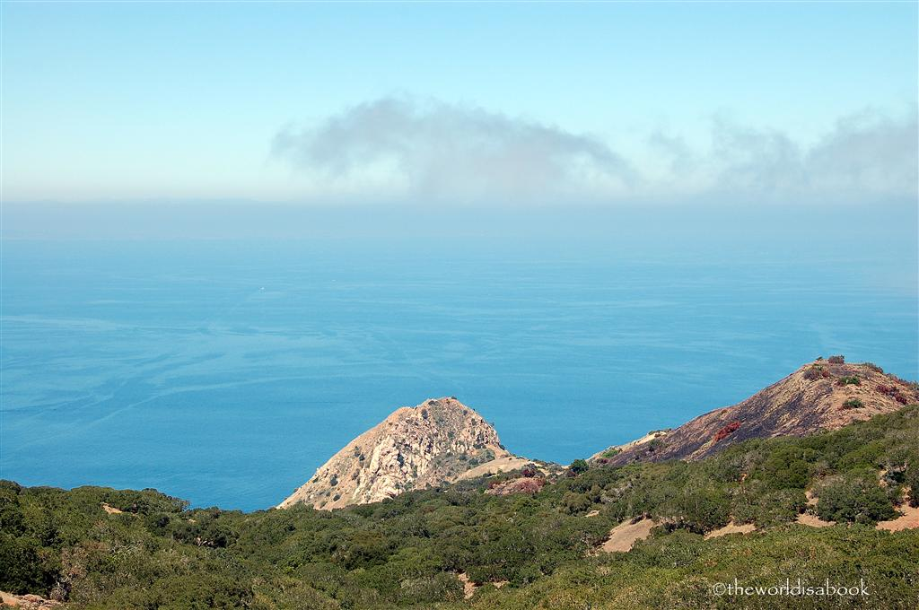 Catalina island coast