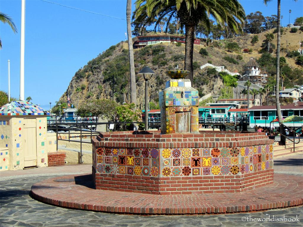 Catalina Island fountain