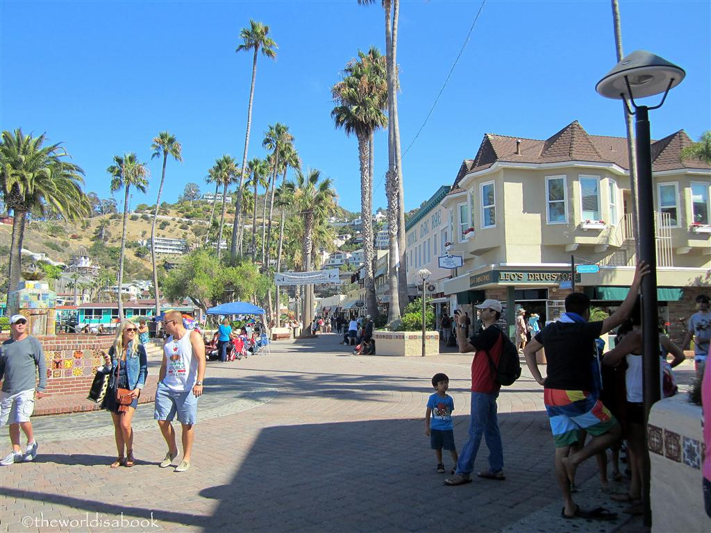 Catalina island avalon street
