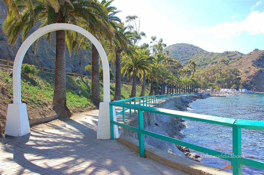 Catalina Island walkway