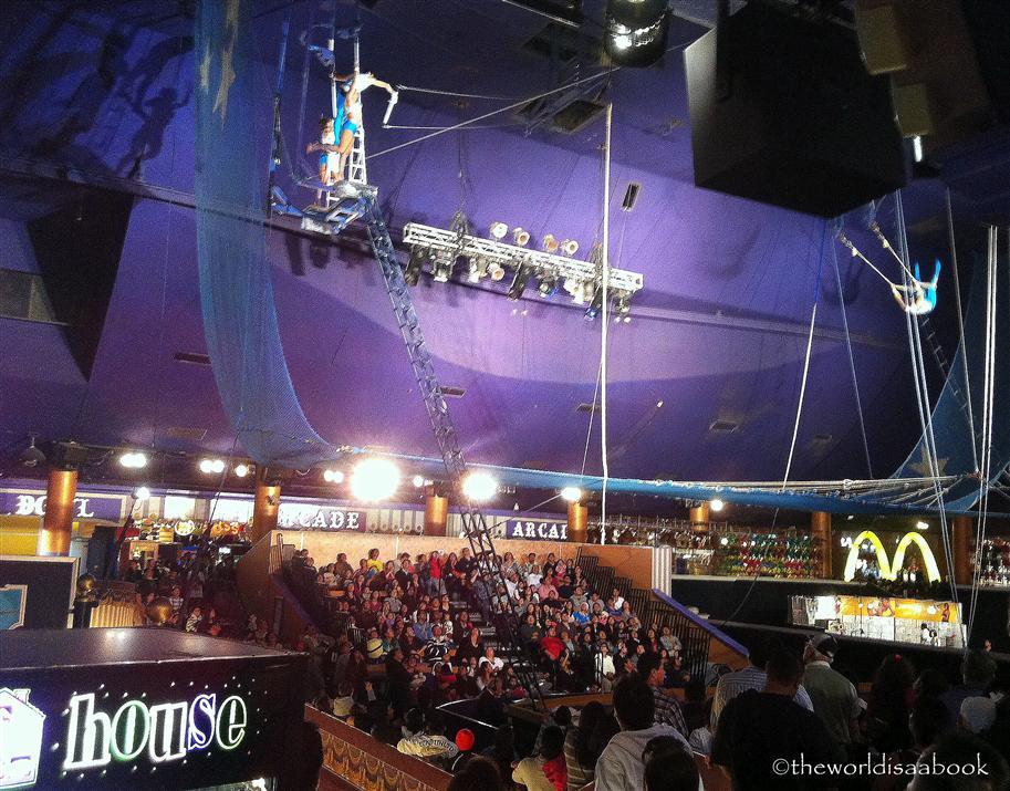 Circus circus hotel trapeze