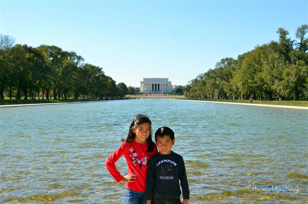 Lincoln Memorial and Tidal Basin
