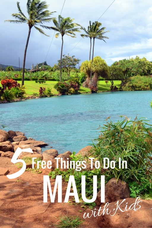 5 Free things to do in Maui with Kids