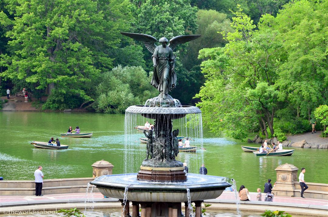 central park angel of the water