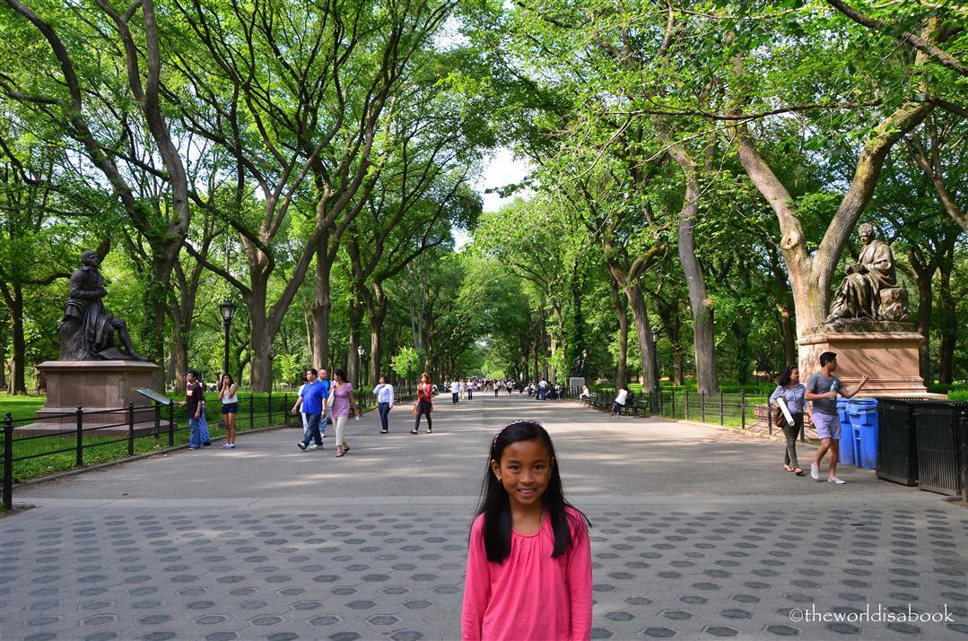 central park mall promenade