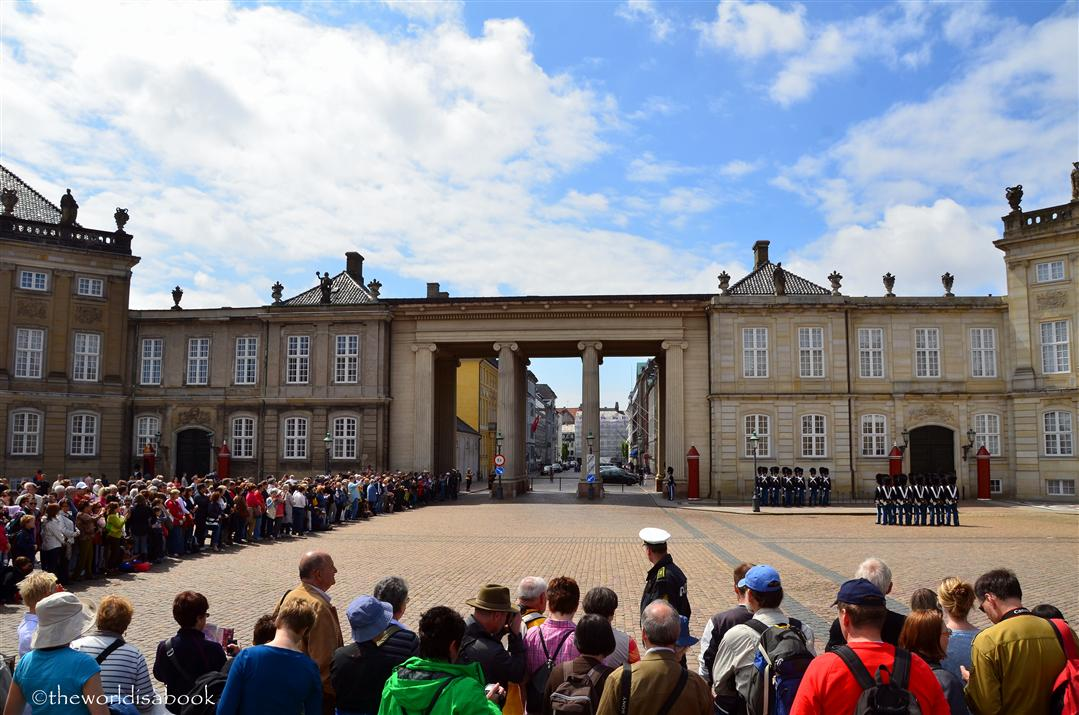 Amalienborg Palace audience